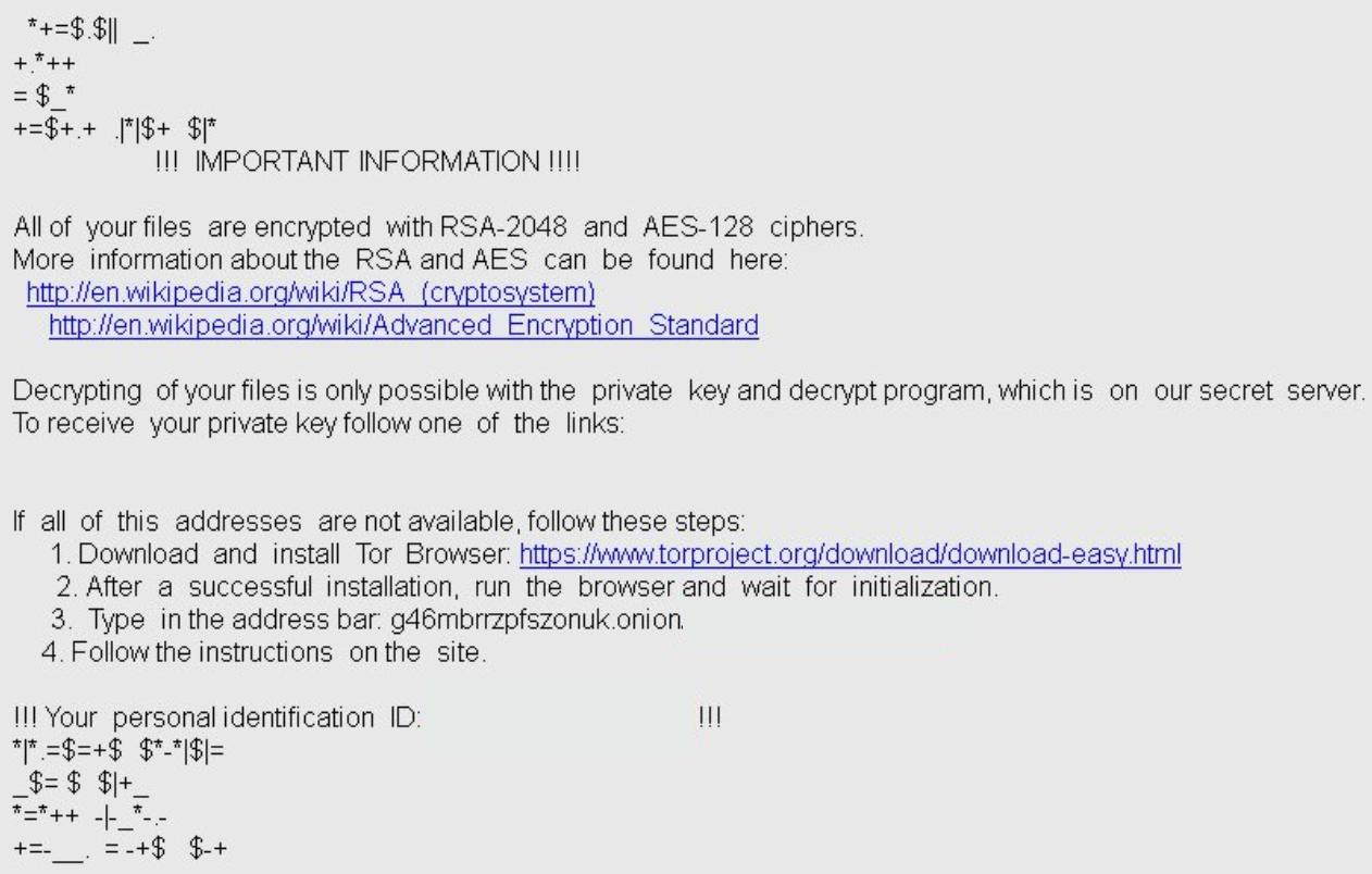 service de décryption de ransomware
